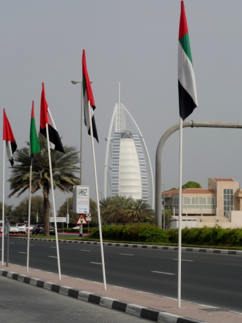 UAE flags!